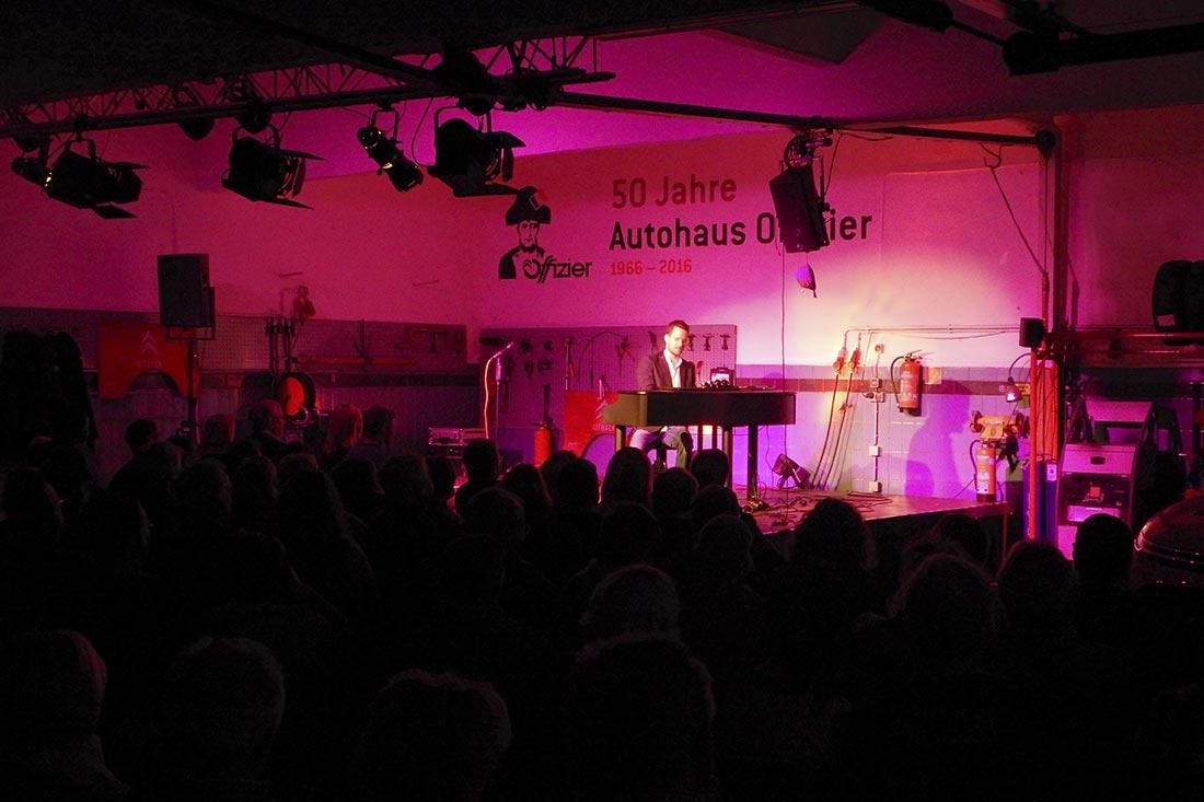 Kulturgarage 2016 im Autohaus Offizier, Brühl