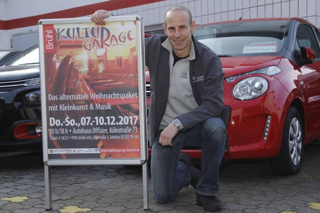 Kulturgarage 2017 im Autohaus Offizier, Brühl